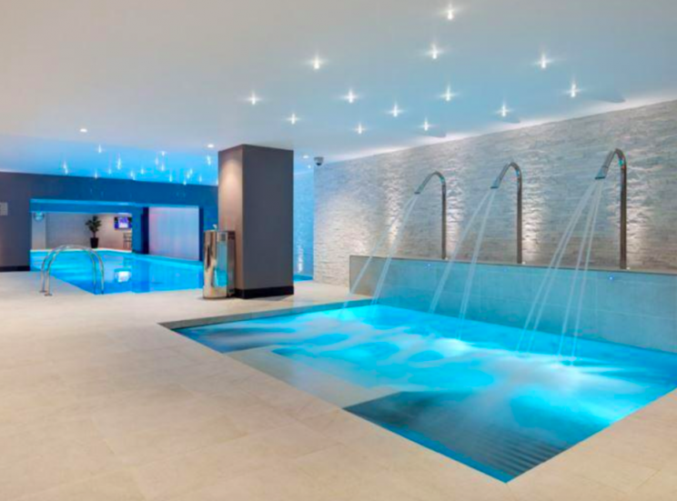The brand new development features a swimming pool and a gym (Berkeley Group)