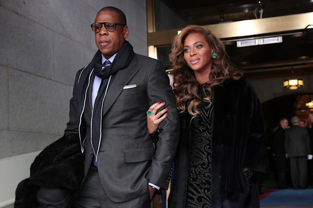 Beyonce And Jay Z Dressed Up As 90s Hip Hop Icons For Halloween