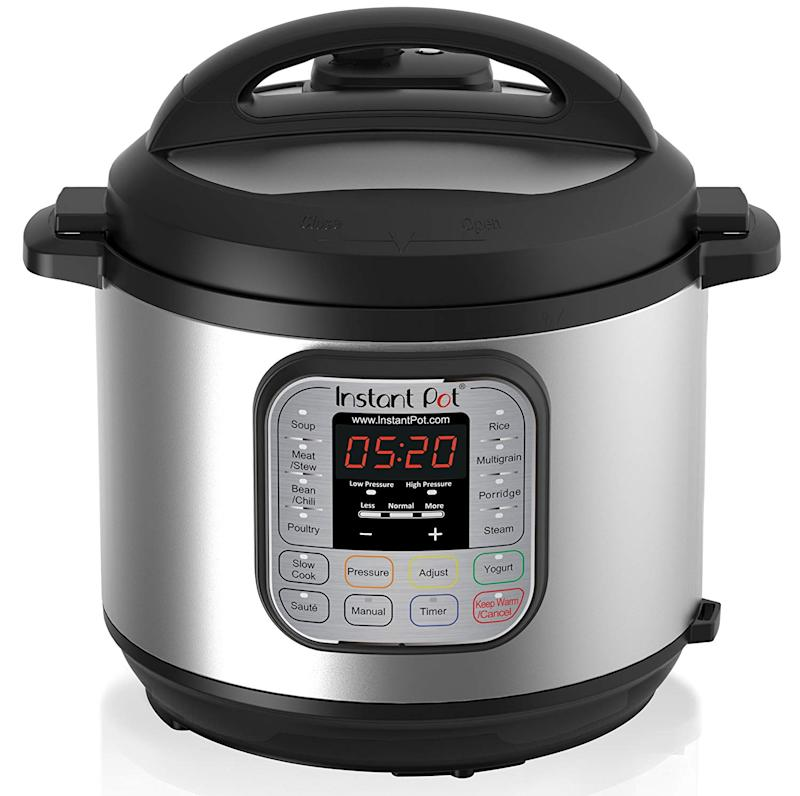 Instant Pot DUO60 6 Qt 7-in-1 Multi-Use Programmable Pressure Cooker. (Photo: Amazon)