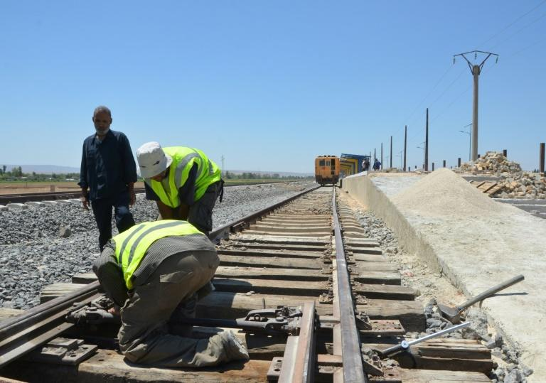 Of the 2,450 kilometres (1,500 miles) of train tracks that cross Syria, some 1,800 kilometres will be repaired, according to the transport ministry.