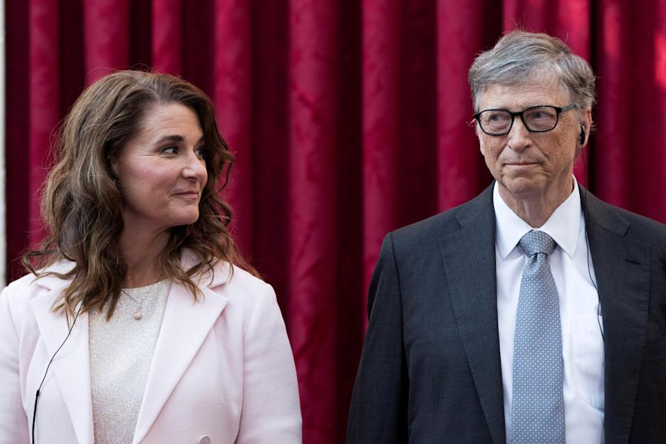 <p>Bill Gates and his wife Melinda</p> (REUTERS)