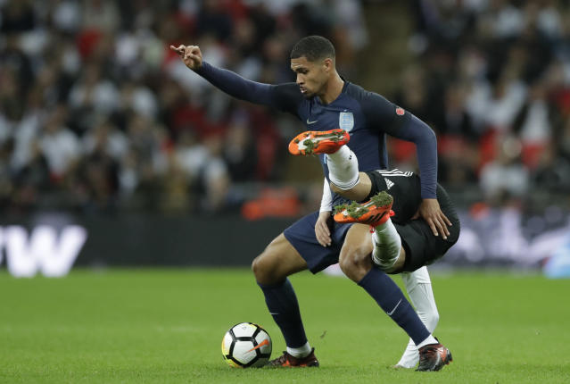 What a debut: England's Ruben Loftus-Cheek was Man of the Match against the world champions