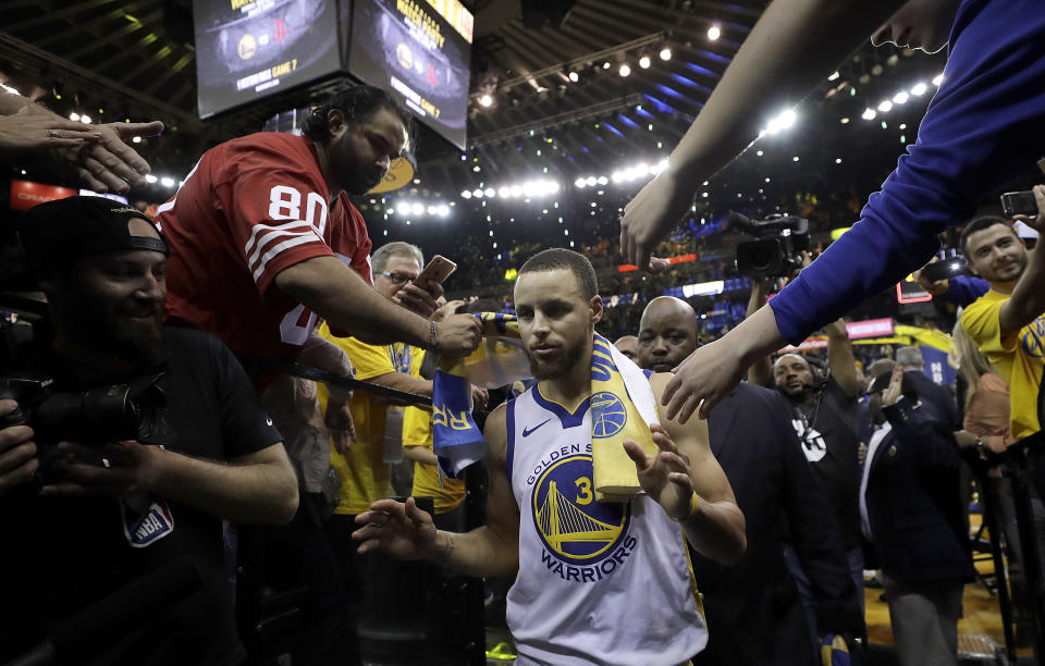 What would the NBA look like without fans? (AP Photo/Marcio Jose Sanchez)