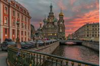 <p>St Petersburg is Russia's cultural capital and it's easy to see why. With more art galleries than you could count, it's also filled with Soviet history, Russian literature and beautiful parks and gardens.<em>[Photo: Getty]</em> </p>