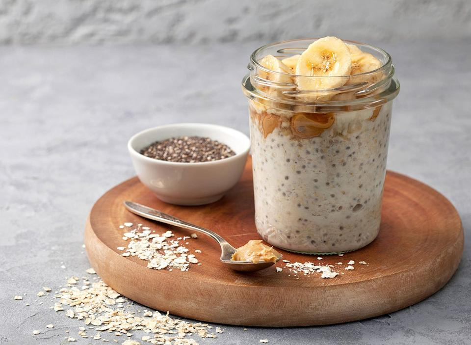 Healthy overnight oats