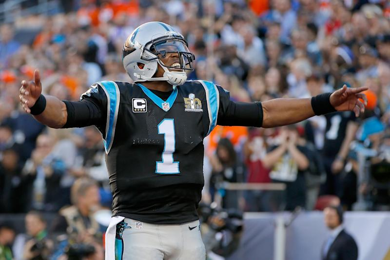 Cam Newton was an icon for the Carolina Panthers. (Photo by Kevin C. Cox/Getty Images)