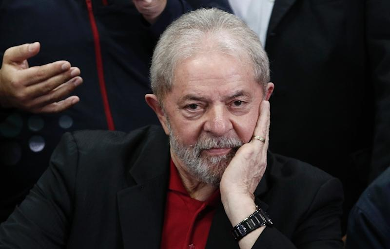 Jailed Brazil ex-president Lula da Silva released for grandson's funeral