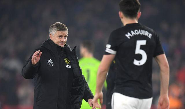 Harry Maguire: 'Absolute top human being' to remain Manchester United captain