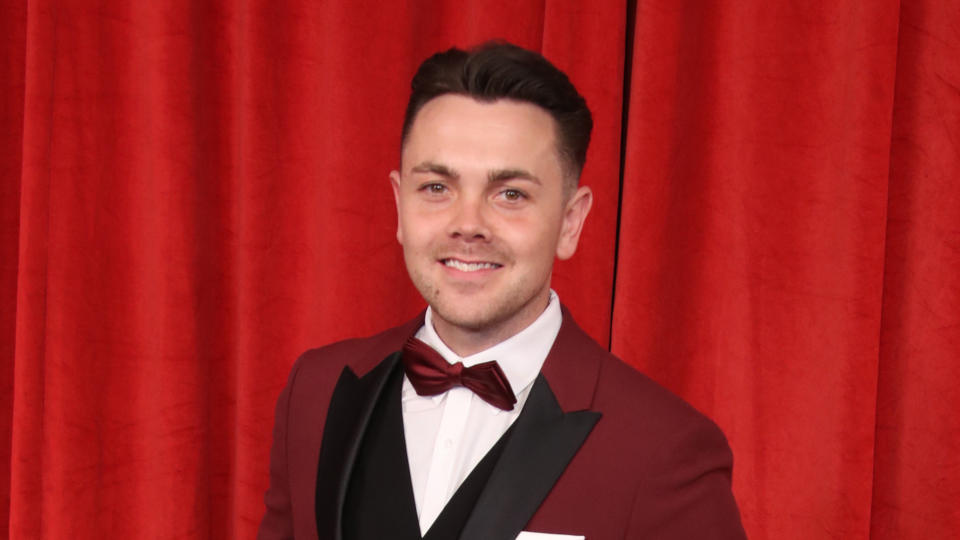 Ray Quinn attends the British Soap Awards at The Lowry Theatre on June 01, 2019. (Photo by Mike Marsland/WireImage)
