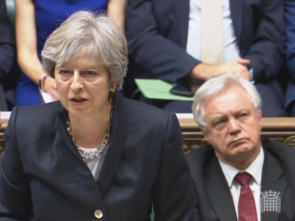 Theresa May to fly to Brussels for emergency Brexit talks