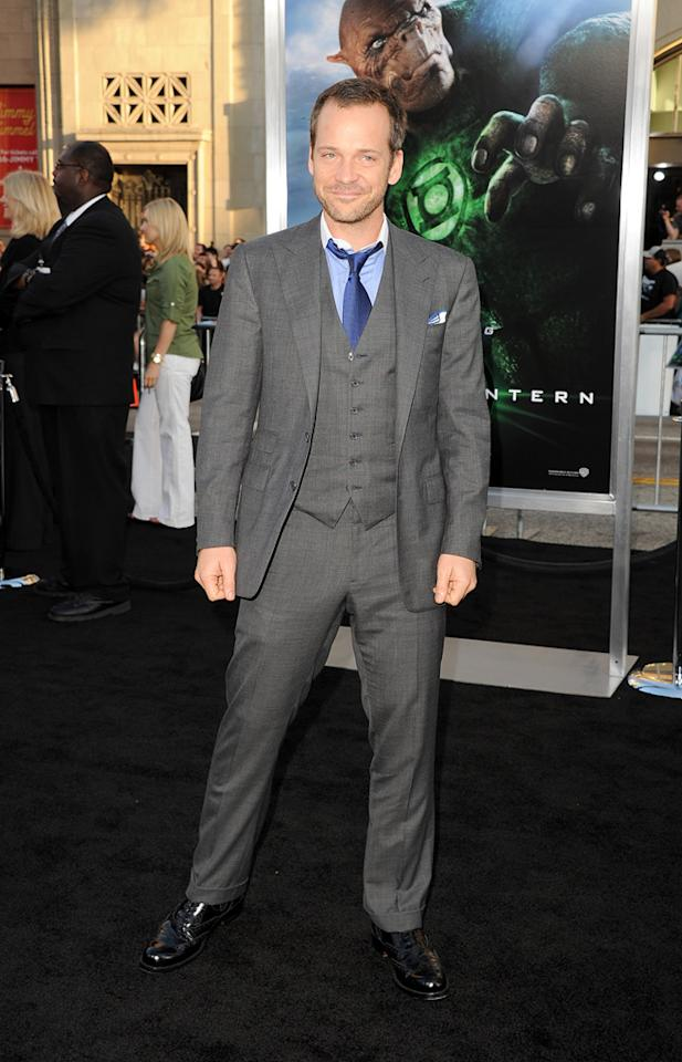 "<a href=""http://movies.yahoo.com/movie/contributor/1800020285"">Peter Sarsgaard</a> at the Los Angeles premiere of <a href=""http://movies.yahoo.com/movie/1810166777/info"">Green Lantern</a> on June 15, 2011."