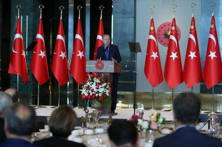 Turkey's Erdogan pledges boycott on U.S.  electronics