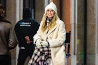 <p>Supermodel Heidi Klum shoots a new episode of <em>Germany's Next Topmodel</em> season 16 at the Mall of Berlin.</p>