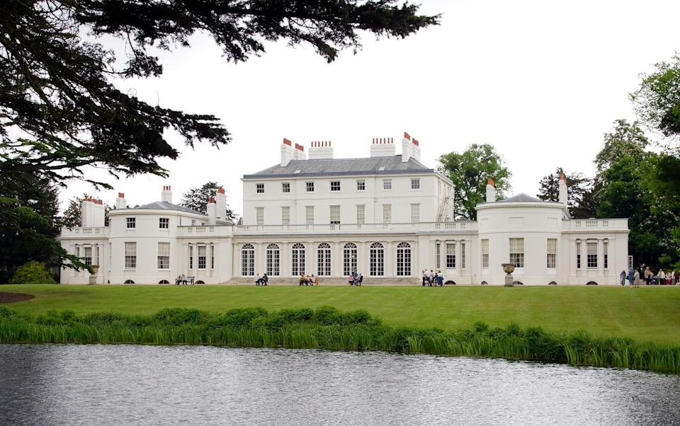 Frogmore House, the location of Prince Harry and Meghan Markle's wedding reception. Image via Getty Images.