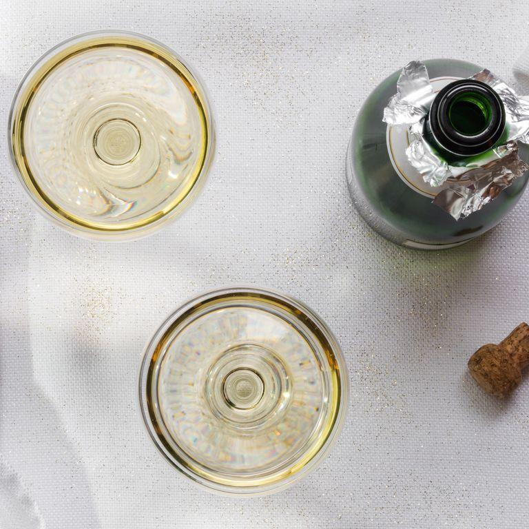"""<p>Grabbing a beer at an open bar? Totally fine. An entire bottle of champagne (or something harder)? Definitely not okay. """"The last thing you want is to be the main topic of your friend's wedding conversation,"""" says Gottsman. Keep it classy and let the waiter or bartender do the pouring. </p><p><strong>RELATED:</strong> <a href=""""https://www.goodhousekeeping.com/life/g27656543/hangover-kit-essentials/"""" rel=""""nofollow noopener"""" target=""""_blank"""" data-ylk=""""slk:12 Hangover Kit Essentials That'll Save Your Wedding Party the Next Morning"""" class=""""link rapid-noclick-resp"""">12 Hangover Kit Essentials That'll Save Your Wedding Party the Next Morning</a></p>"""