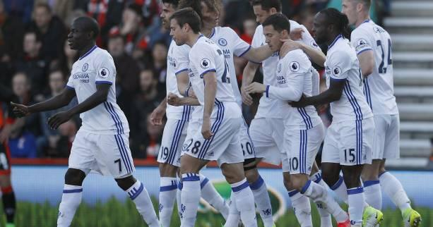 Foot - ANG - 32e j. - Chelsea domine Bournemouth et maintient l'allure