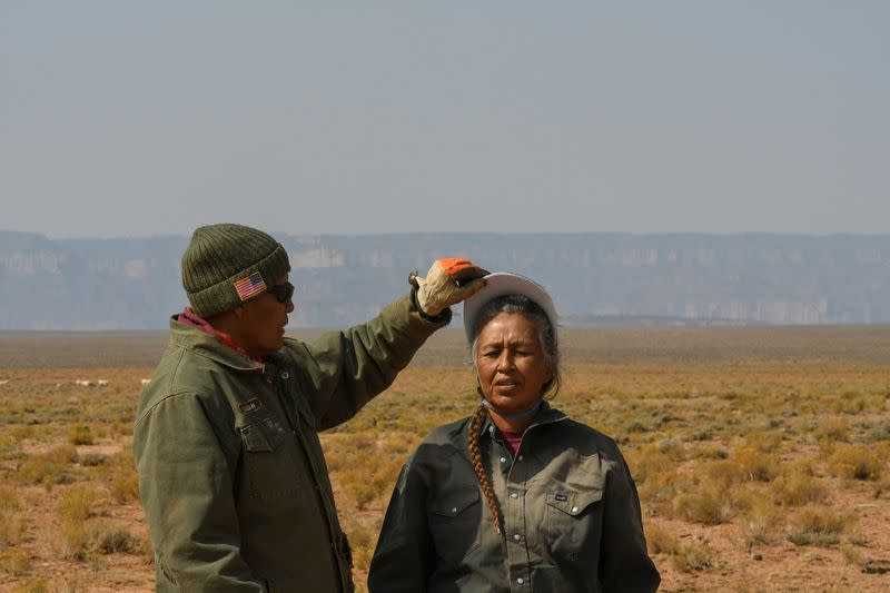 'We don't give up really easy': Navajo ranchers battle climate change