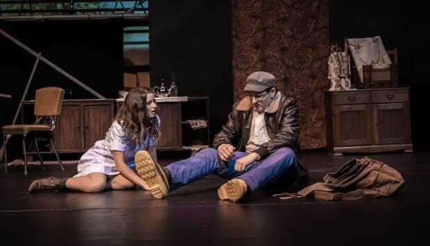 Purge,a drama produced by Theatre; Just Because, strays from the musicals and farces often shown in Fort McMurray. (Submitted by Fantasie Frei Creations - image credit)