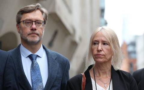 """John Letts and Sally Lane have branded Sajid Javid a """"coward"""" after son's citizenship was revoked - Credit: Yui Mok/PA"""