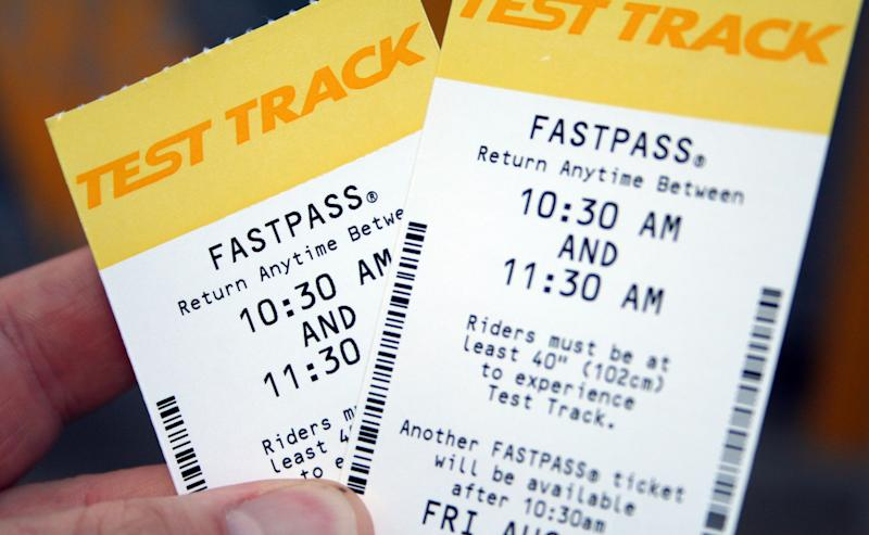 Over at Disney, they have a FASTPASS system that is free, but also requires more forethought. Basically a FASTPASS allows you to pick a ride that you want and then get a pass to skip the line at some point later in the day. You'll have an hour-long window to make it to the ride and you can't have more than one FASTPASS active at a time (they're all connected through your park pass). But if you plan out your day properly, you should be able to skip the line at almost every Disney attraction, from the Safari in Animal Kingdom to Space Mountain in Tomorrow Land. This is especially important for low-capacity, high-popularity rides like Peter Pan's Flying Ride.