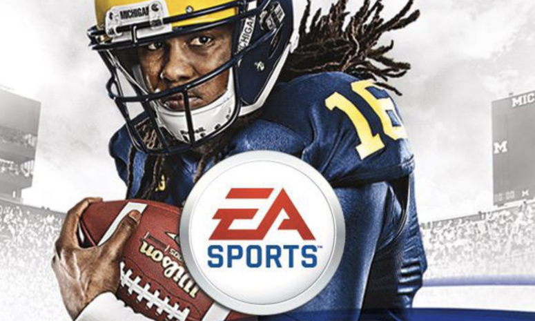 ea sports ncaa football cover