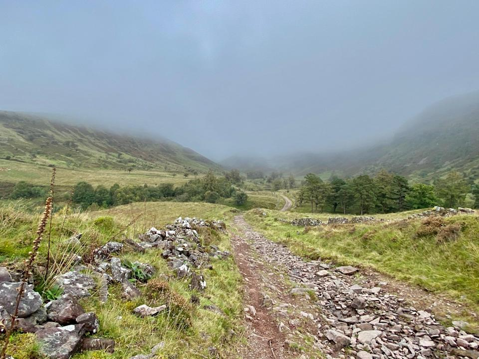 Sarn Helen is even more ethereal in the mistSian Lewis
