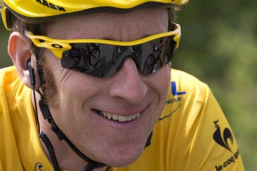 Bradley Wiggins crossed the line first on stage nine, 35sec ahead of Chris Froome and 57 ahead of Fabian Cancellara