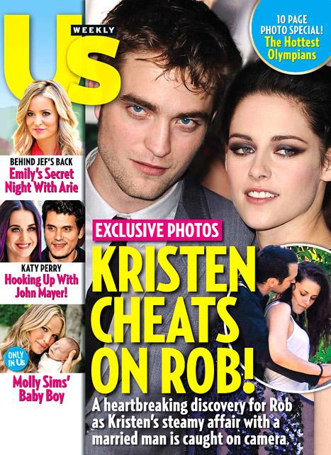 Kristen Stewart Cheats on Robert Pattinson With Director Rupert Sanders