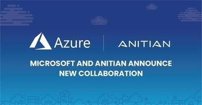 Anitian Announces Collaboration with Microsoft Azure