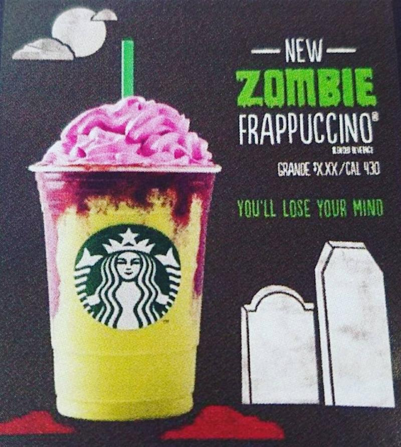 Starbucks Is Allegedly Releasing A Halloween Drink The