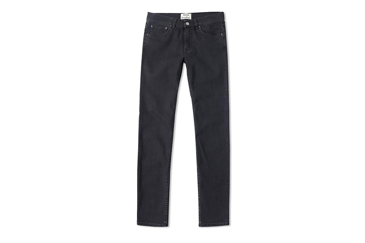 """<p><em>$225, buy now at <a rel=""""nofollow"""" href=""""https://www.endclothing.com/us/acne-studios-ace-used-cash-jean-30y144-100.html?mbid=synd_yahoostyle"""">endclothing.com</a></em></p>"""