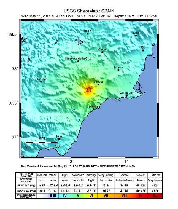Deadly Spain Earthquake Triggered By Groundwater Removal
