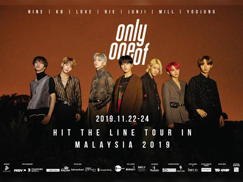 OnlyOneOf is coming to Malaysia soon!