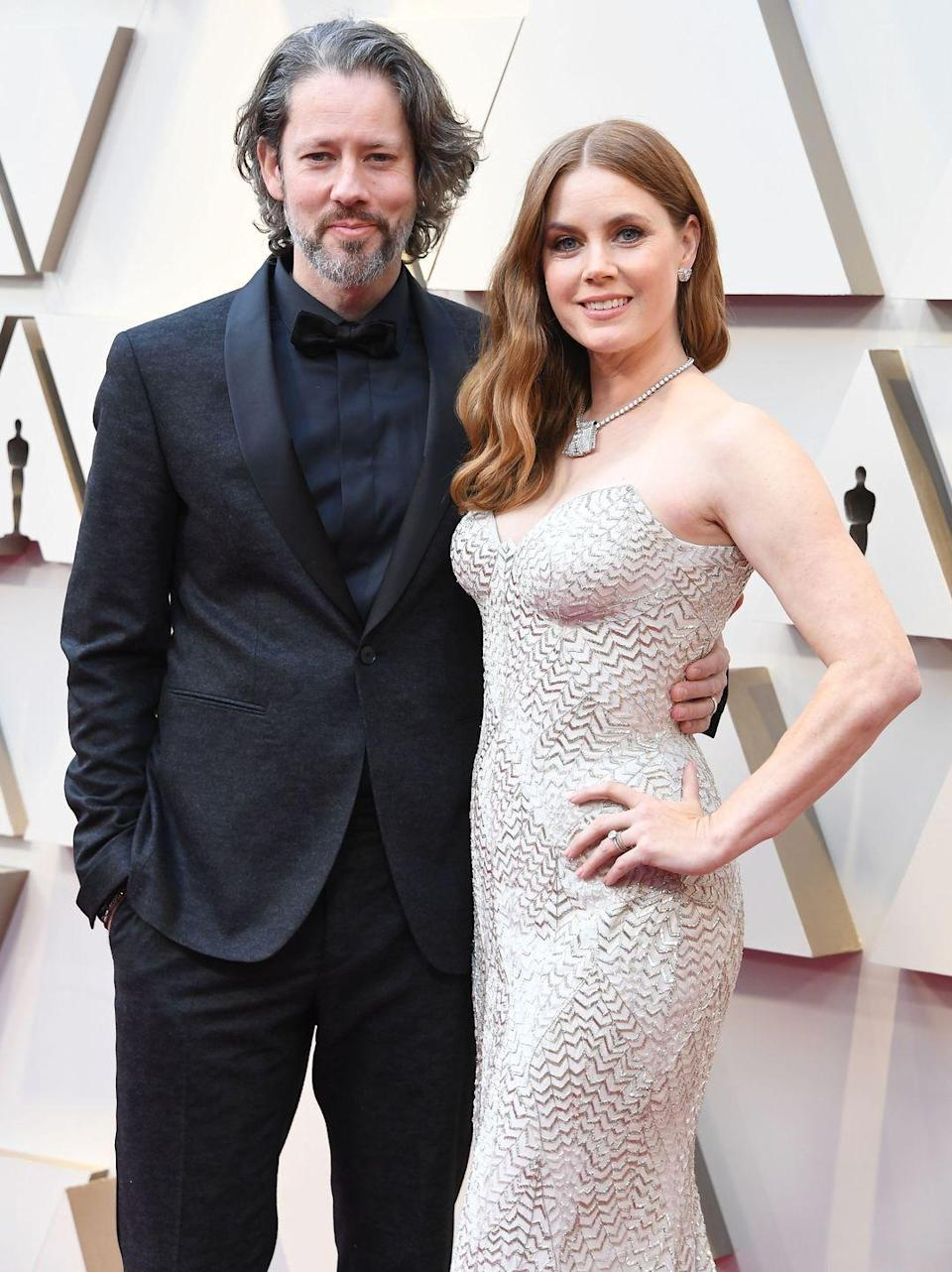 <p>Amy Adams remains happily married to her artist husband, Darren Le Gallo, however the couple is so private that most people don't even know they're a couple. They welcomed a daughter in 2010, and finally tied the knot in 2015 after dating for 14 years and being engaged for seven of them.</p>