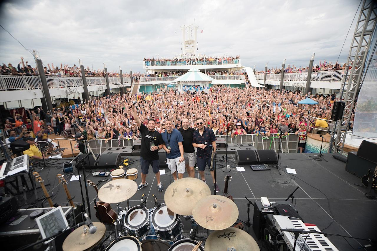 """<strong>WHAT TO EXPECT:</strong>2,300 comedy lovers will come together aboard the Norwegian Pearl for four days of laughs courtesy of the Impractical Jokers. Joe, Sal, Q, and Murr will all be on board the ship, where, according to the website, the drinks and punchlines never stop flowing. This will be the fourth Impractical Jokers cruise to set sail, and excursions include a trip to the famed Atlantis resort in the Bahamas.  <strong>WHEN: </strong>February 10 - 14, 2020  <strong>WHERE: </strong>Miami to Nassau, Bahamas  <strong>Book It! </strong><a href=""""http://www.impracticaljokerscruise.com/"""" target=""""_blank"""" rel=""""nofollow"""">impracticaljokerscruise.com</a>"""