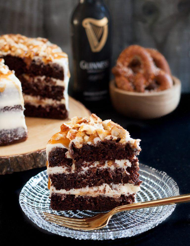 """<p>Combine two of Dad's favorite things — cake and beer — in this boozy layered cake. </p><p><em><a href=""""http://goodiegodmother.com/sweet-and-salty-guinness-chocolate-cake/"""" rel=""""nofollow noopener"""" target=""""_blank"""" data-ylk=""""slk:Get the recipe from Goodie Godmother »"""" class=""""link rapid-noclick-resp"""">Get the recipe from Goodie Godmother »</a></em></p>"""