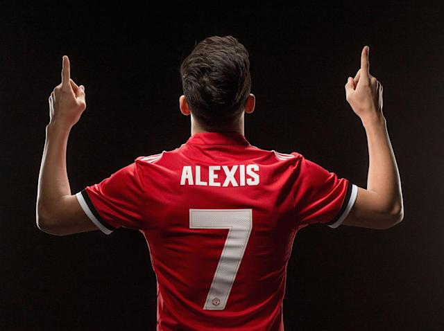 Alexis Sanchez has revealed where he sees himself fitting in at Manchester United