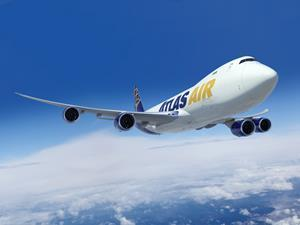 Atlas Air Worldwide Orders Four New Boeing 747-8 Freighters