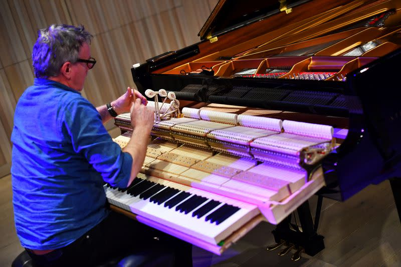 Leeds International Piano Competition at the Royal Academy of Music in London