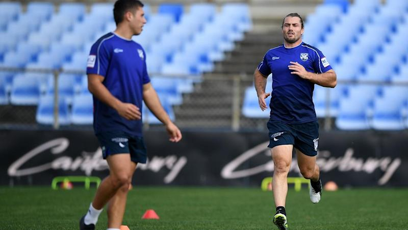 NRL BULLDOGS TRAINING