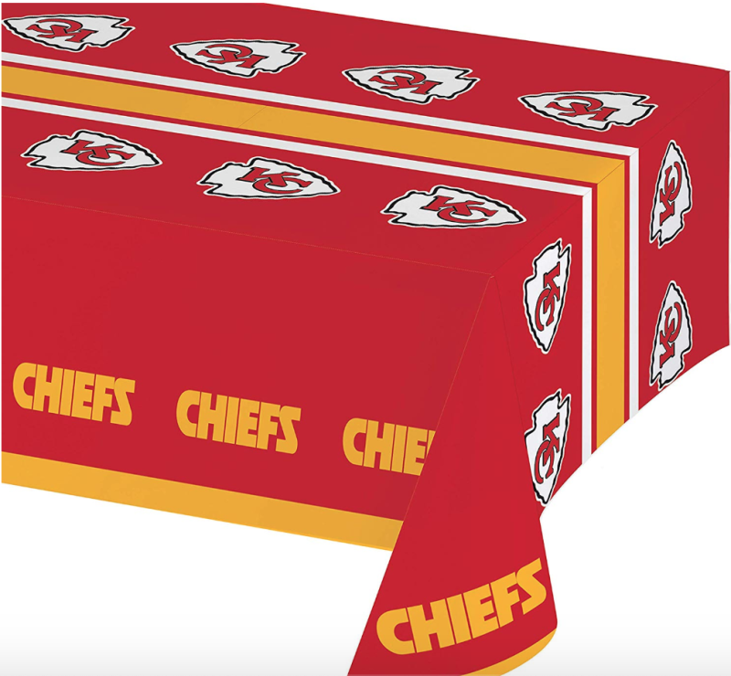 Chiefs Plastic Tablecloths