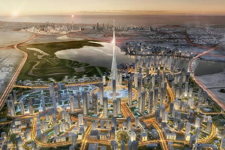 Dubai is building a $1 billion skyscraper that may be the tallest in the world