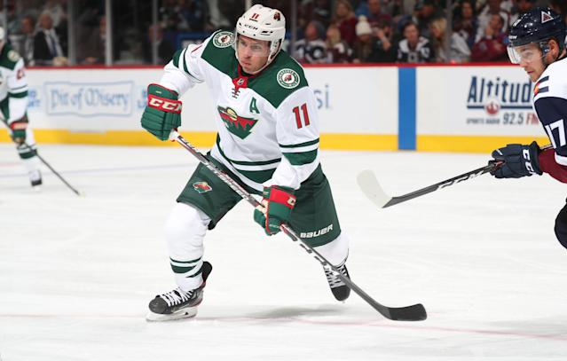 Zach Parise and the rest of the Wild are set to score this week. (Photo by Michael Martin/NHLI via Getty Images)