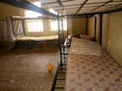 The empty bunk beds of the kidnapped students