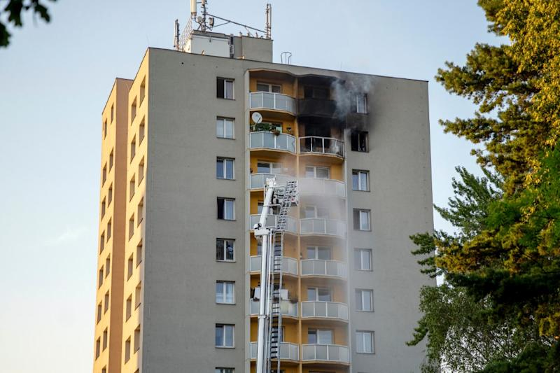 11 Killed, 10 Injured in Czech Republic Apartment Fire; 5 Died by Jumping from 12th Floor in Panic