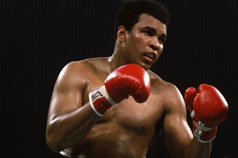 Ali: The boxer's gloves are going up for sale: Getty
