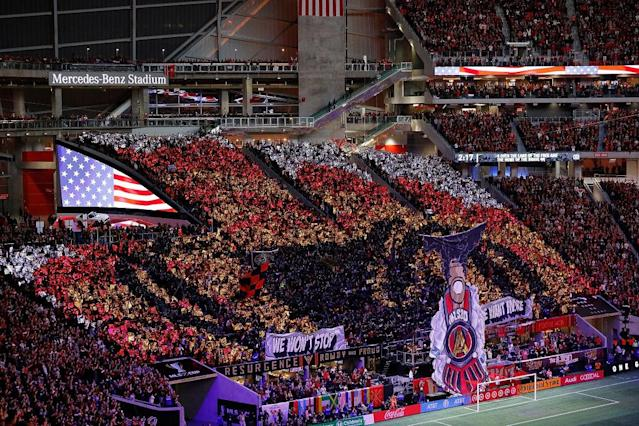 Atlanta United fans have waited a long time for this championship. (Getty)