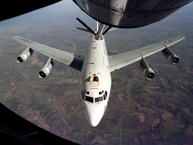 US protests 'unprofessional' intercept of Offutt-based plane by Chinese jets