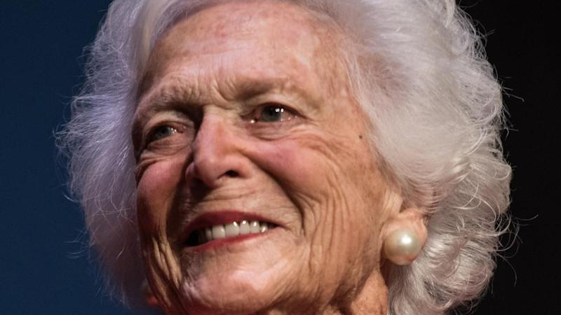 Barbara Bush's Health is Failing, Will Not Seek Additional Medical Care