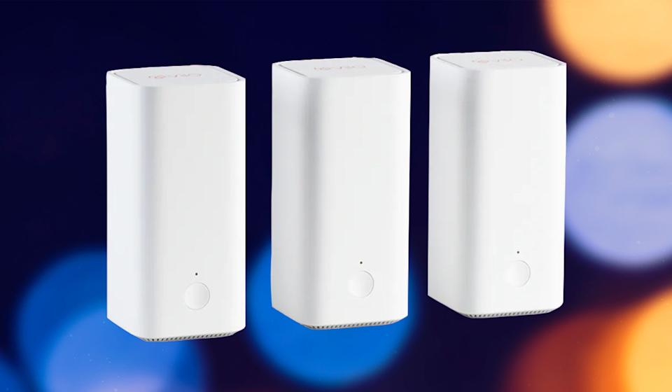 Normally a three-node mesh network system would cost you hundreds of dollars. This new one from Vilo is just $70. (Photo: Vilo)